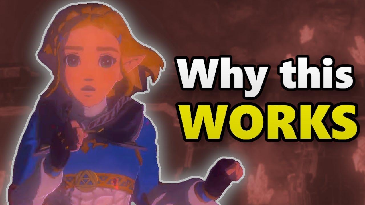 Why Zelda S Short Hair Makes Perfect Sense Botw 2 Theory
