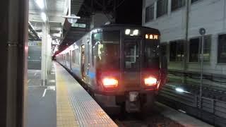 普通列車糸魚川行 富山駅発車