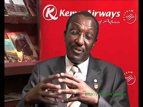 Interview with CEO Kenya Airways Dr.Titus Naikuni - Part one