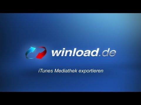 iTunes - Mediathek exportieren und sichern | Winload.de