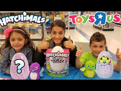 Magical surprise egg opening at toys r us kids toy review youtube