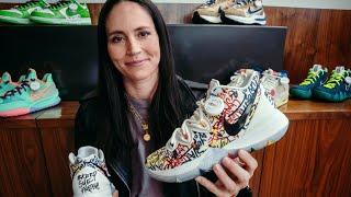 Sue Bird Breaks Down The Art Of WNBA Sneaker Culture