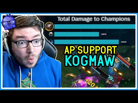 SUPPORT Kog'maw did HOW MUCH DAMAGE??