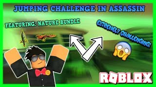 ROBLOX | ASSASSIN: BRAND NEW JUMPING CHALLENGE (HITTING SOME INSANE SHOTS!) *HARD*