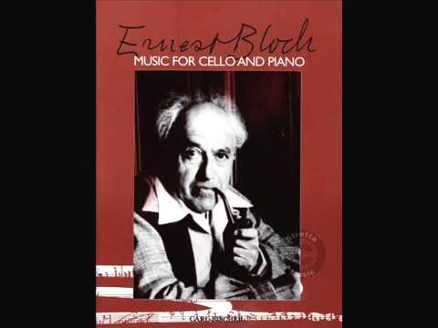 Ernest Bloch, Prayer - From Jewish Life, Lukasz Frant - cello, Joanna Frant - piano