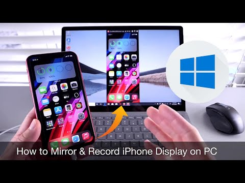 Video showing two ways to transfer files between a PC and iOS device including how to use iTunes Fil.