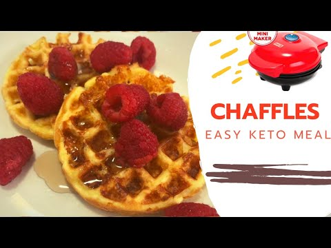 How To Make Chaffles! Easy Keto Waffles!