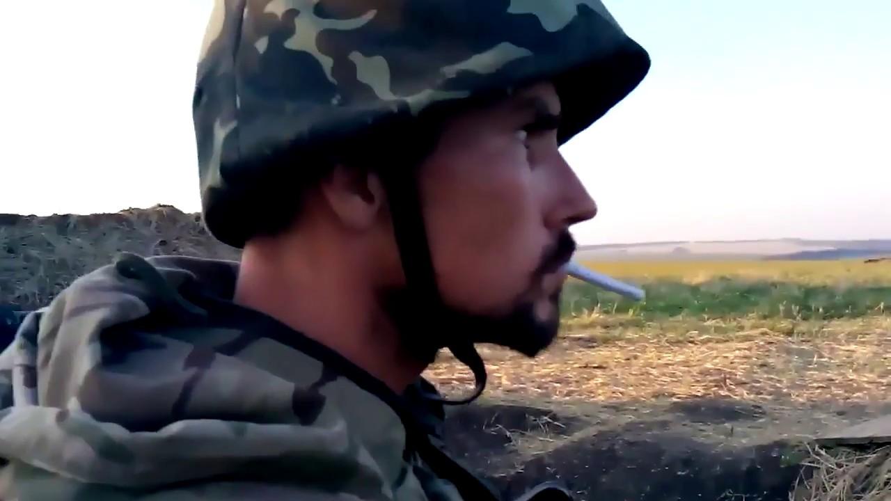 Уничтожение колоны российских войск силами ЗСУ (ВСУ, АТО)