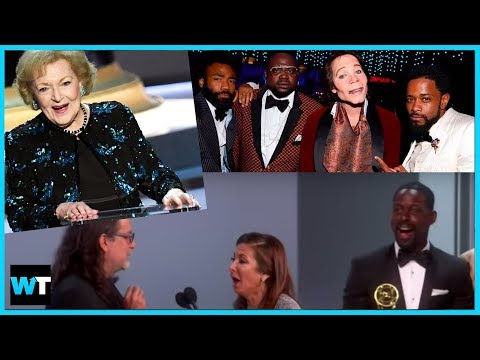 Best VIRAL Moments From The 2018 Emmy Awards! Proposals, Betty White And More!