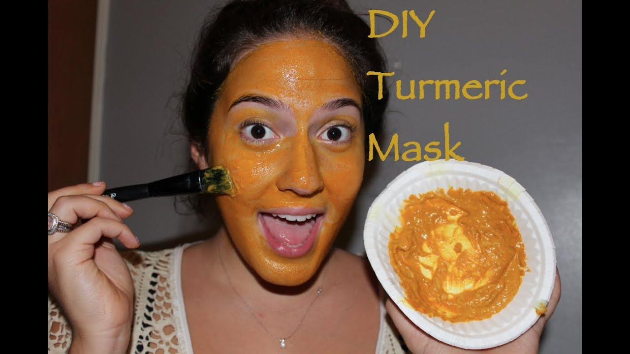 DIY Turmeric Mask- Clear, Wrinkle and Dark Circle Free ...