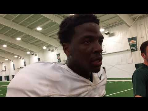 Scarred by two ACL tears, Michigan State RB Weston Bridges hungry for an opportunity