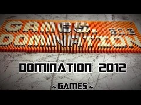 45,000 Dominoes - Domination 2012 (Games) TRAILER