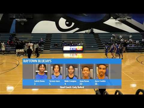 RHS Varsity Boys Basketball vs Rockhurst High School 12/18