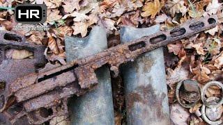 PPSh-41: Relic Hunting Western Front of WWII Раскопки Вторая Мировая Война Металлоискатель Ep14