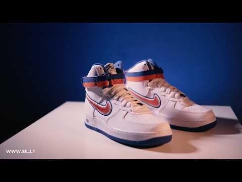Nike Air Force 1 High Sport 'Knicks' AV3938 100 Release Date
