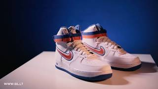 Nike Air Force 1 High '07 LV8 Sport NBA Knicks - AV3938-100