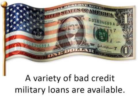 Bad Credit Military Loans >> Bad Credit Military Loans Serving Those Who Serve Us