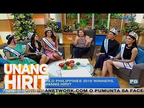 Unang Hirit: Miss World PH 2019 Winners, nakasama ng UH Barkada!