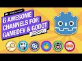 6 Channels for Learning Gamedev & Godot on YouTube! 2020