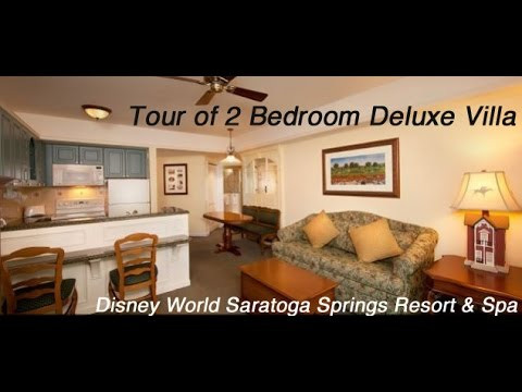 Walt Disney World Saratoga Springs Resort Amp Spa 2 Bedroom