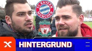 Fans des FC Bayern München nach dem Aus gegen Liverpool: