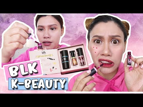 BLK COSMETICS (K-BEAUTY LIMTED EDITION) REVIEW 💜 Purpleheiress