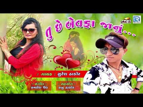 BEWAFA New Song - Tu Chhe Bewafa Janu | New Gujarati Song 2018 | Suresh Thakor | RDC Gujarati