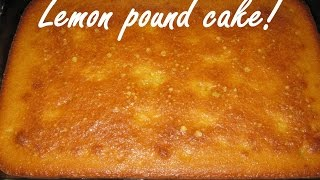 Gluten Free Lemon Pound Cake Recipe Made From Scratch