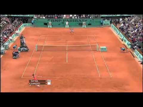 Ana Ivanovic vs Dinara Safina 2008 RG FINAL