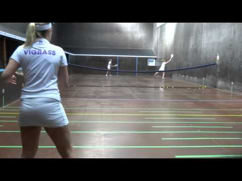 Neptune Ladies British Open Real Tennis Doubles Final 2014