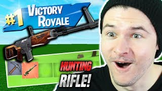NEW HUNTING RIFLE IN ROBLOX FORTNITE BATTLE ROYALE (Island Royale Update)