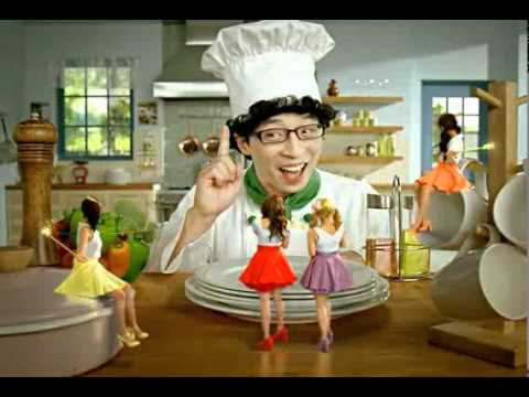 Secret & Yoo JaeSuk [NeNe Chicken CF]