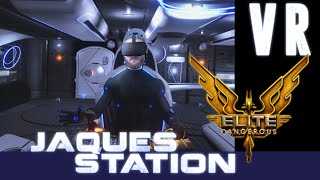 Elite Dangerous VR: There and back again - A bumbler's tale [Jaques Station CG]