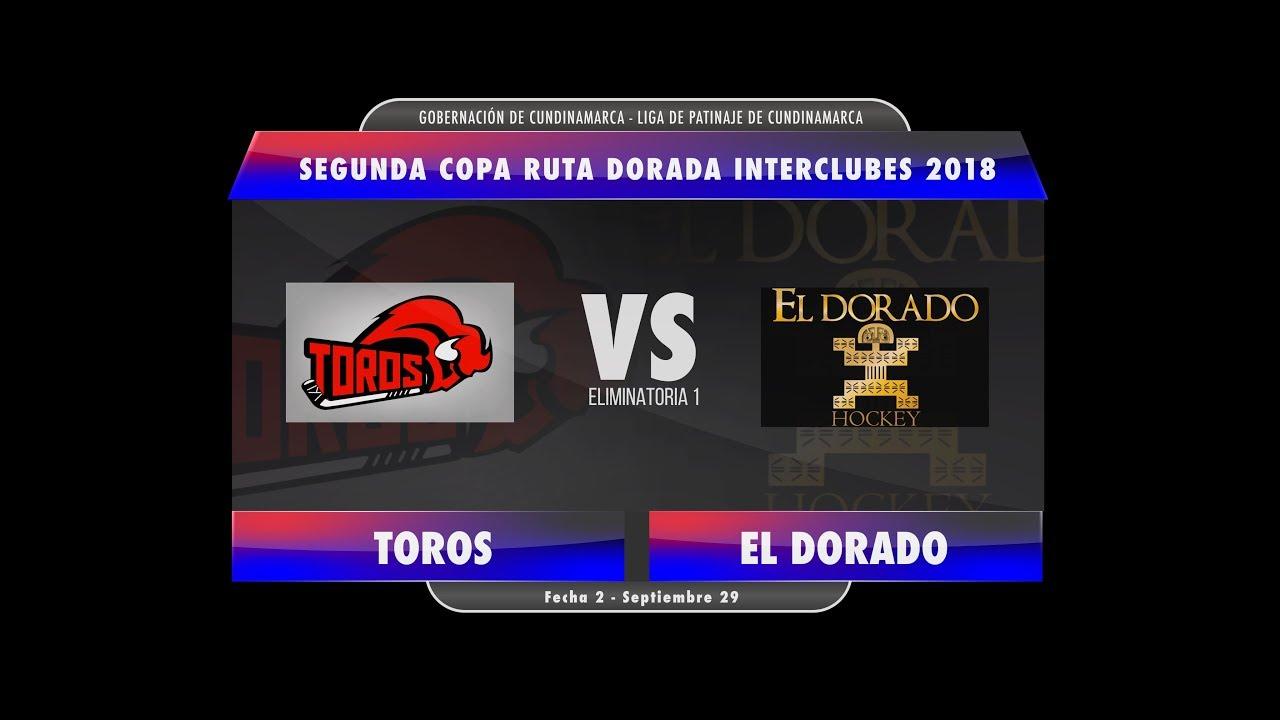 Toros Vs El Dorado Hockey Inline Segunda Copa Ruta Dorada Interclubes 2018
