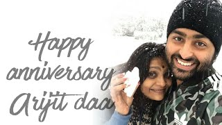 Happy Anniversary Arijit sir | Unreleased Song of Arijit Singh | Maine socha ki chura loon | phir se