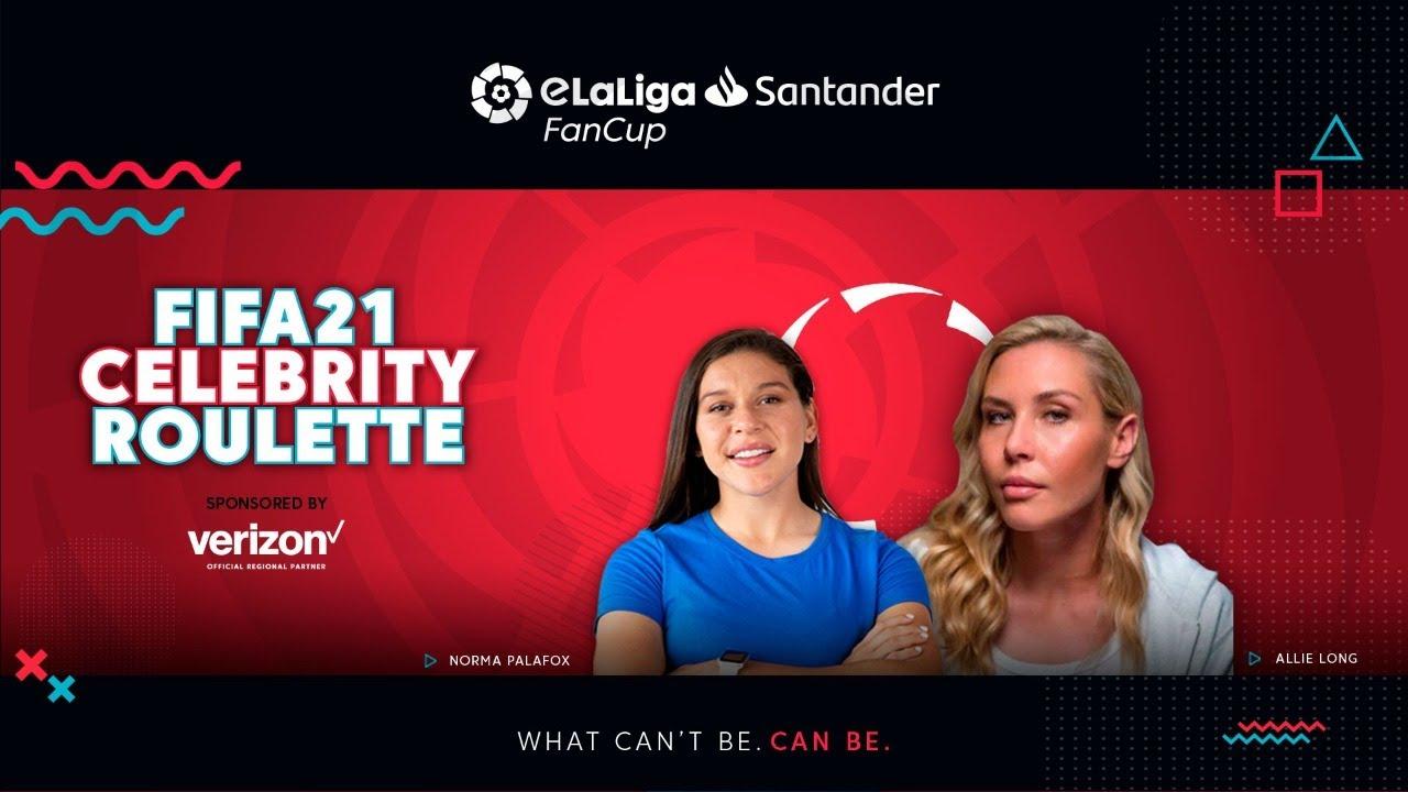🔴 #FIFA21 Celebrity Roulette con Allie Long y Norma