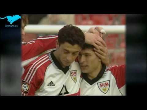 Krassimir Balakov VfbStuttGart Vs BorussiaMönchengladbach on 20 /03 /99