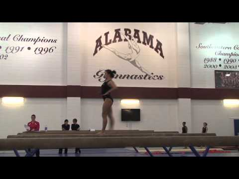 Alabama Gymnastics: Kayla Hoffman on the Balance Beam