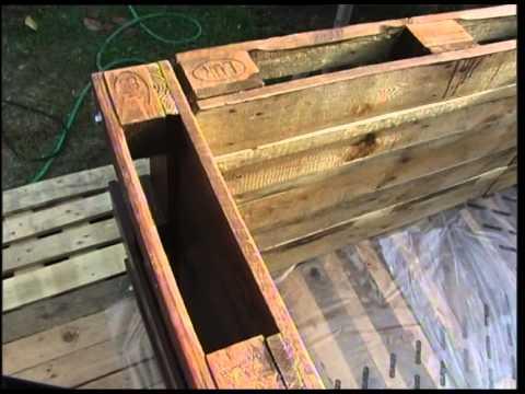 Costruire Piscina Con Europallet Diy Swimming Pool Youtube