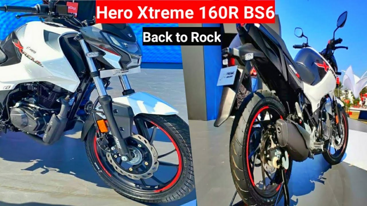2020 Hero Xtreme 160r Bs6 Official Launch Specs Xtreme 160r
