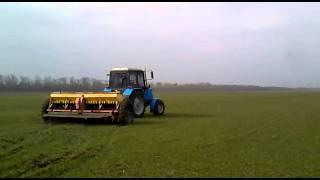 МТЗ-892 подкормка пшеницы