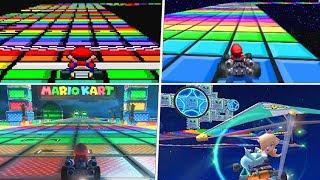 Evolution of SNES Rainbow Road (1992 - 2019)