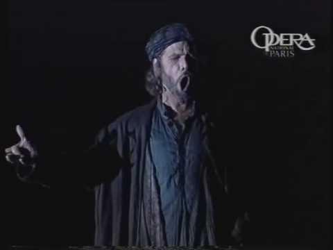 Samuel Ramey sings Zaccaria in Nabucco