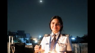 How Lady Pilots Celebrate Karwa Chauth !🌝