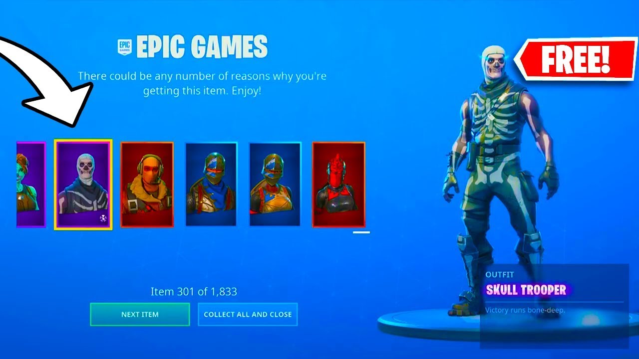 THIS FORTNITE PLAYER GAVE HIMSELF OVER 1600 ITEMS for FREE