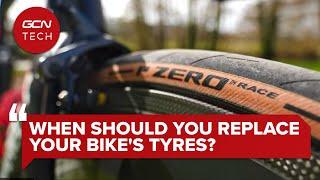자전거 타이어는 언제 교체해야합니까? | GCN 테크 클리닉 #AskGCNTech
