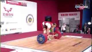 2013 World Weightlifting Championships 94 kg A Group