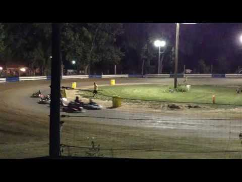 chase potter's first jr3 win at starlite speedway