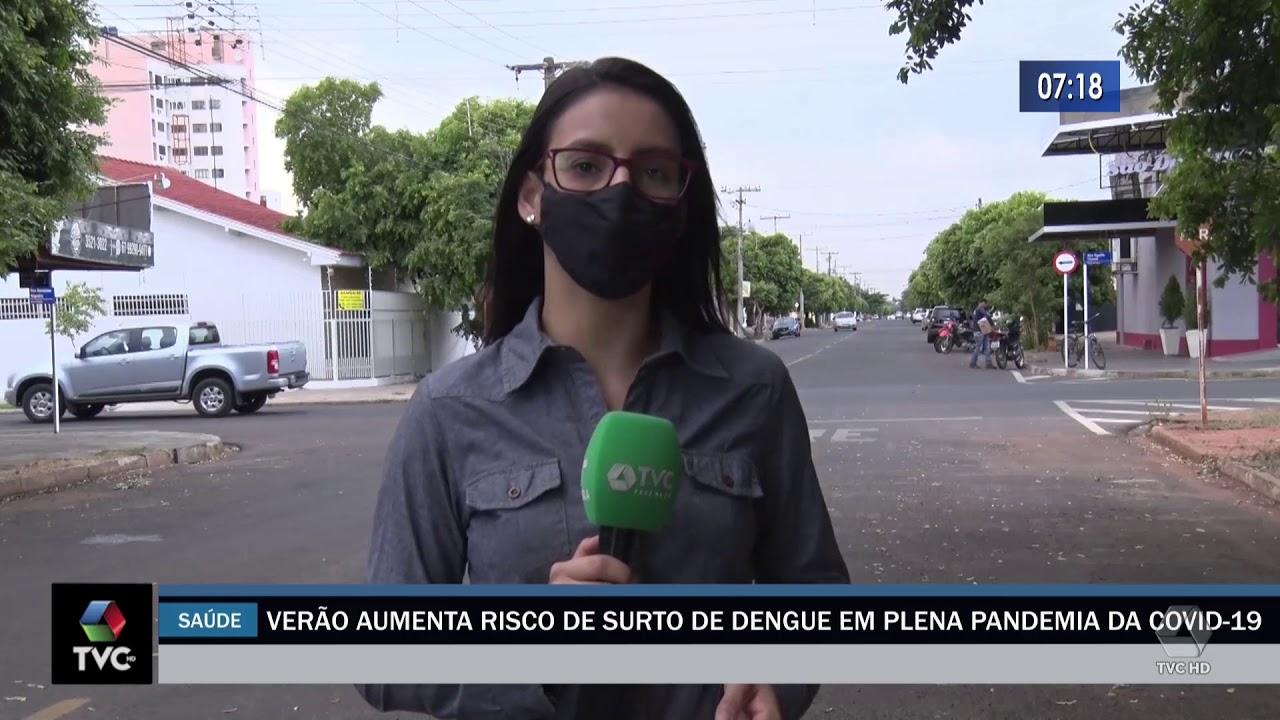 Verão aumenta risco de surto de dengue em plena pandemia da Covid 19