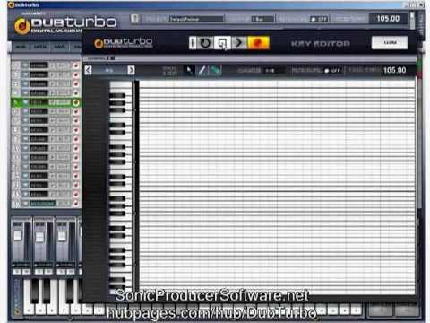 dub turbo beat maker tutorial 2 4 octave sampling keyboard youtube. Black Bedroom Furniture Sets. Home Design Ideas